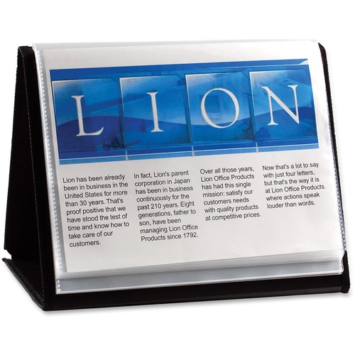 Lion Flip-N-Tell Display Easel Books | by Plexsupply