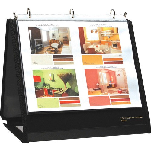 Lion Insta-Cover Ring Easel Binder | by Plexsupply