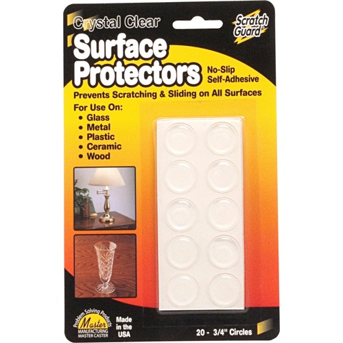 Master Scratch Guard Crystal Clear Surface Protectors