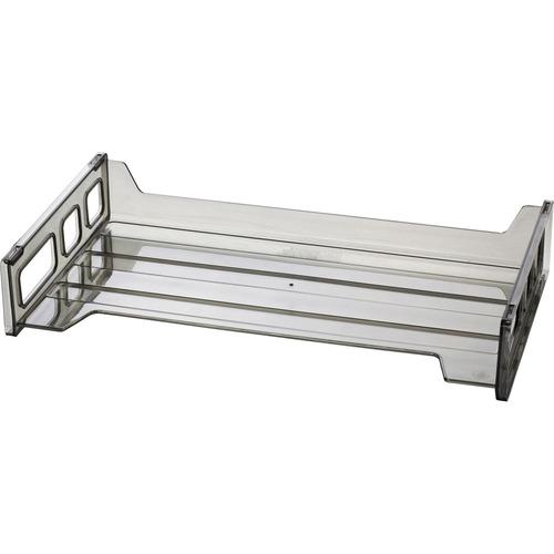 Officemate Side Load Smoke Desk Tray | by Plexsupply