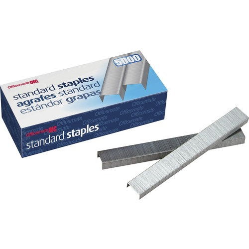 Officemate Full Strip Standard Staples | by Plexsupply