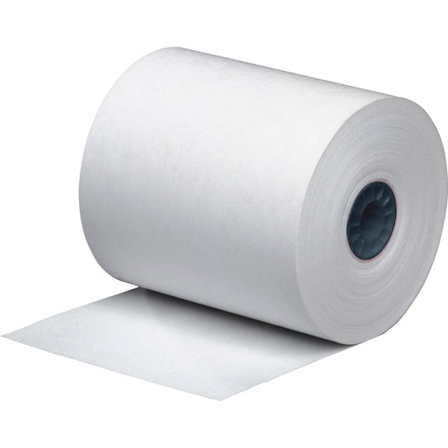 "Direct Thermal Printing Thermal Paper Rolls, 3.13"" x 273 ft, White, 50/Carton 
