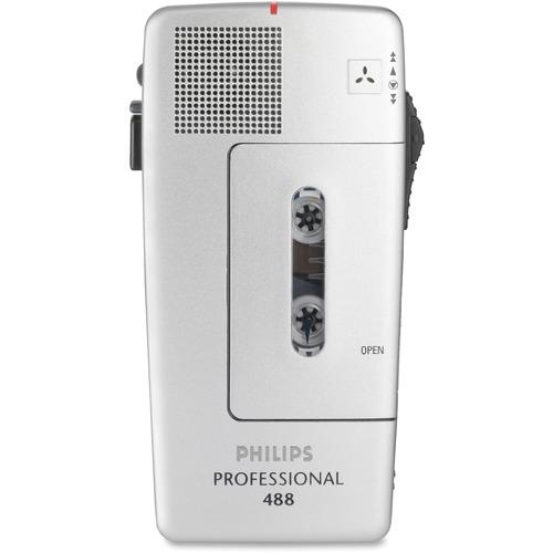Philips PM488 Minicassette Voice Recorder