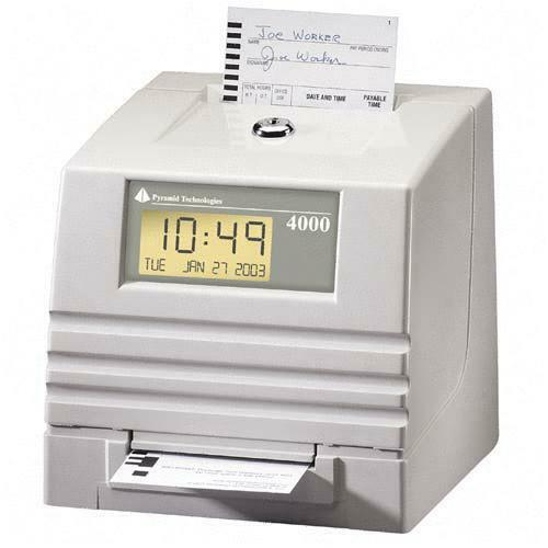 Pyramid Technologies 4000 Electronic Totalizing Payroll Recorder