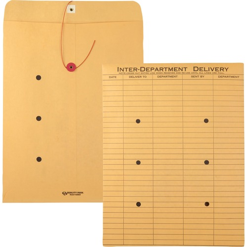 Quality Park Kraft Inter-Department Envelopes | by Plexsupply