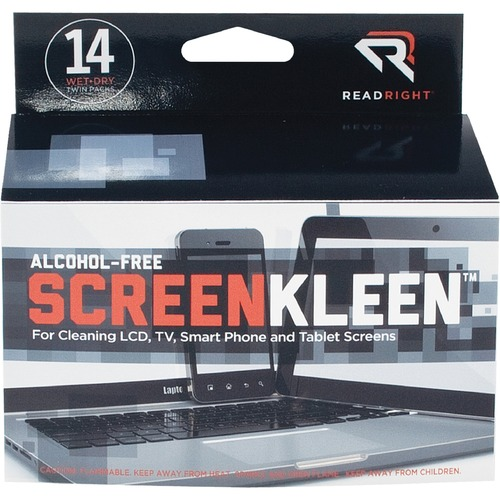 Advantus Screen Kleen Cleaning Wipes