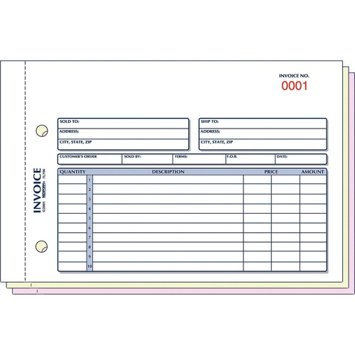 Rediform Carbonless Invoices | by Plexsupply