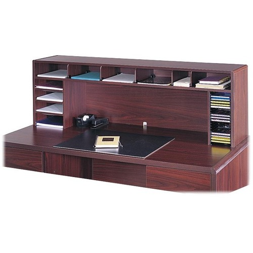 Safco High Clearance Wood Desktop Organizer