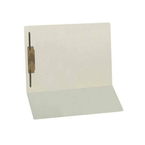 SJ Paper S13631 Water Resistant End-Tab Folders with Fastener