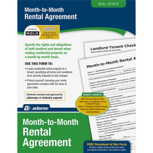 Adams Monthly Rental Agreement