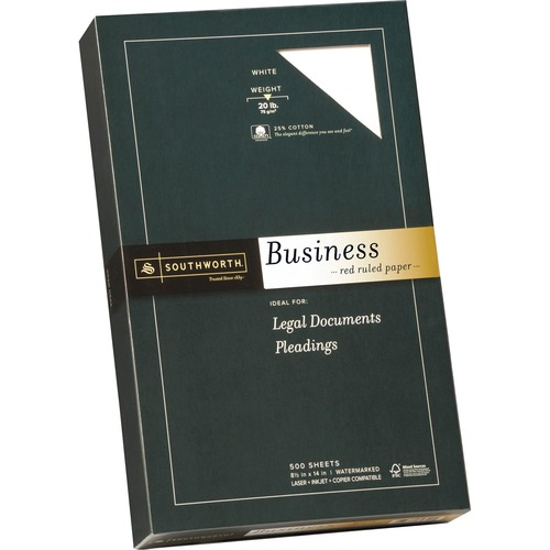 Southworth Red Ruled Business Paper | by Plexsupply