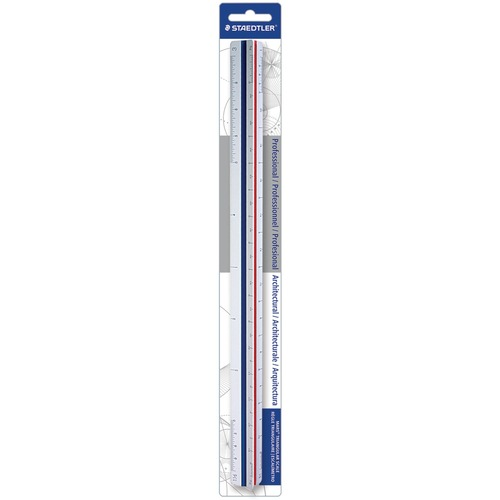 "Staedtler 12"" Architect Triangular Scale 
