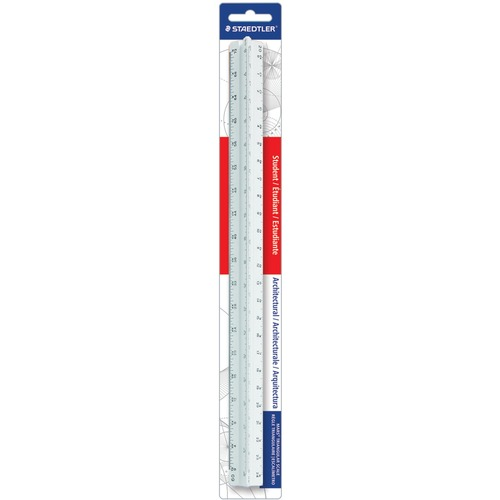 "Staedtler Student Series 12"" Triangular Scale 