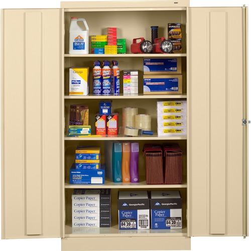 Tennsco Full-Height Standard Storage Cabinets | by Plexsupply