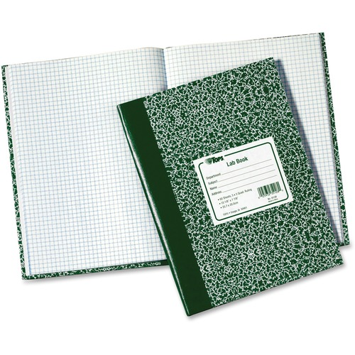 Tops Quad Ruled Lab Research Notebook   by Plexsupply