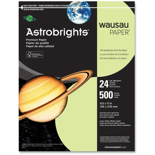 Wausau Paper Corp. Astrobrights Colored Paper