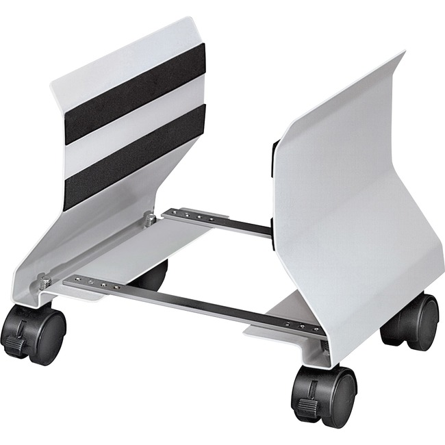 FELLOWES ADJUSTABLE PLATINUM PREMIUM CPU STAND SUPPORTS UP TO 50LBS