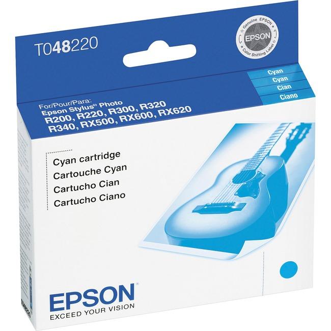 Epson T0482 Cyan Ink Cartridge