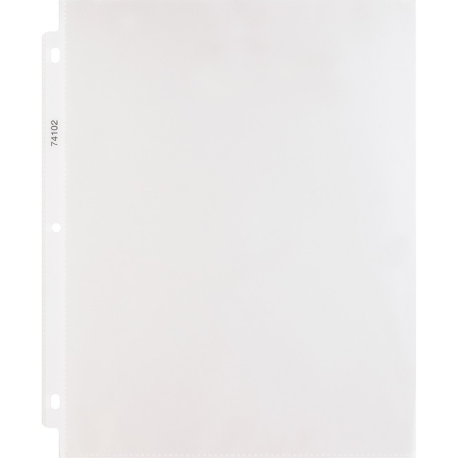 Sparco Hvy-duty 3-Hole Top-loading Sheet Protector