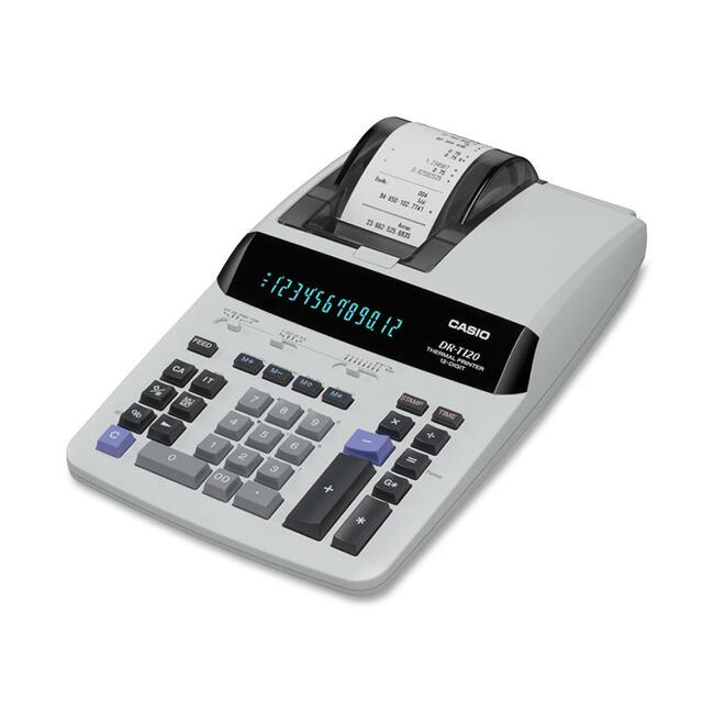 Casio DR-T120 Thermal Printing Calculator