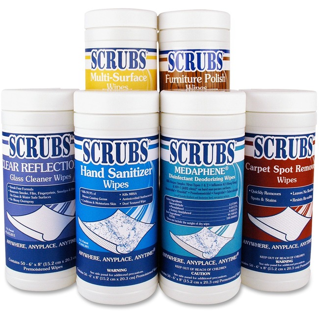 Scrubs Disinfectant/Cleaning Wipes