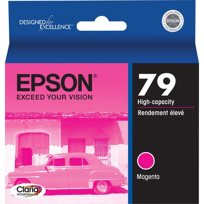 Epson 79 High-Capacity Magenta Ink Cartridge