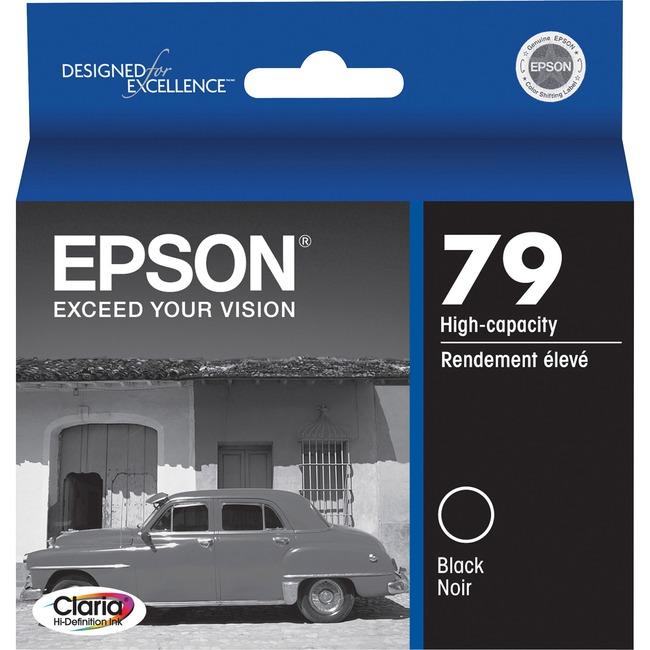 Epson 79 High-Capacity Black Ink Cartridge