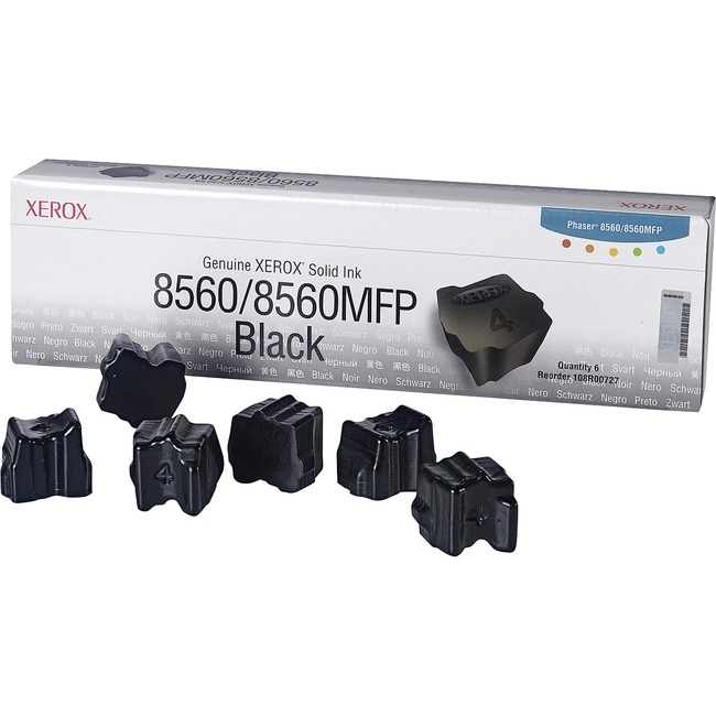 Xerox Black Solid Ink Sticks