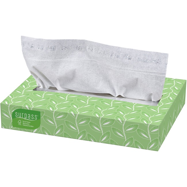 Kimberly-Clark Surpass Two-ply Facial Tissue