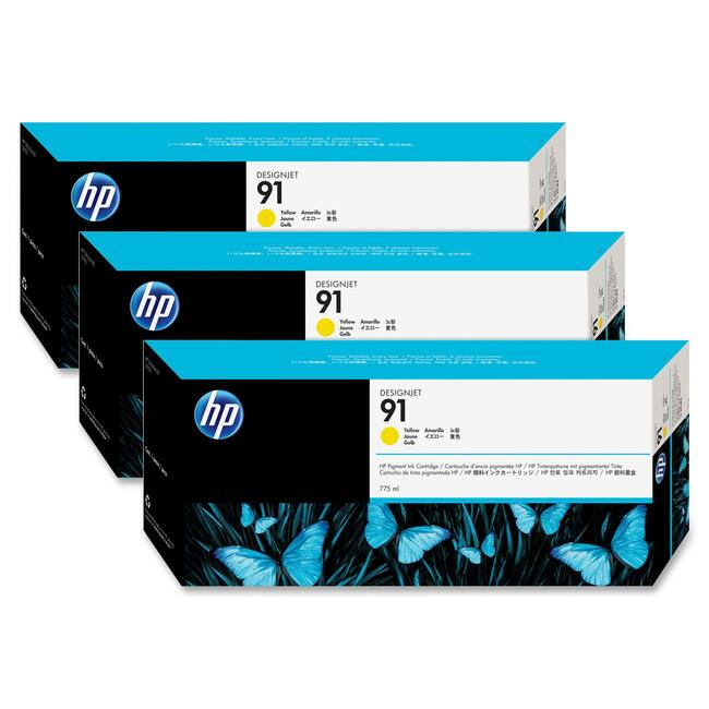 HP 91 Multipack Yellow Ink Cartridge