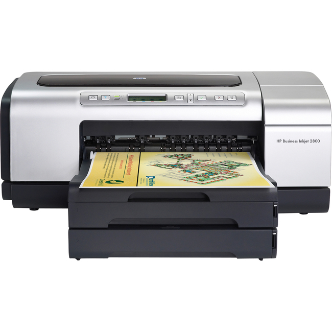 HP Business Inkjet 2800DTN Inkjet Printer - Color - 4800 x 1200 dpi Print - Plain Paper Print - Desktop