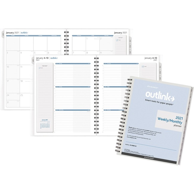 AAG70200910 At A Glance Outlink Weekly Planner Refills