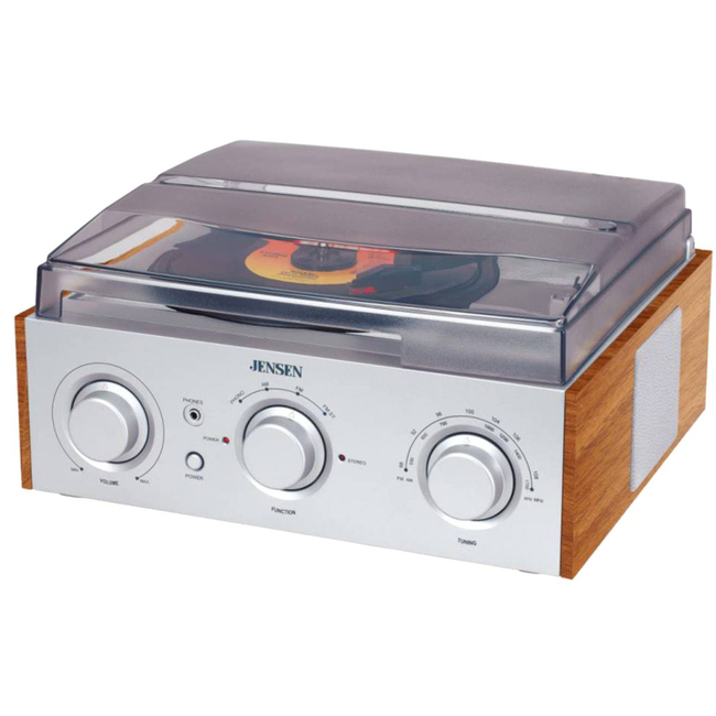 JENSEN Record Turntable