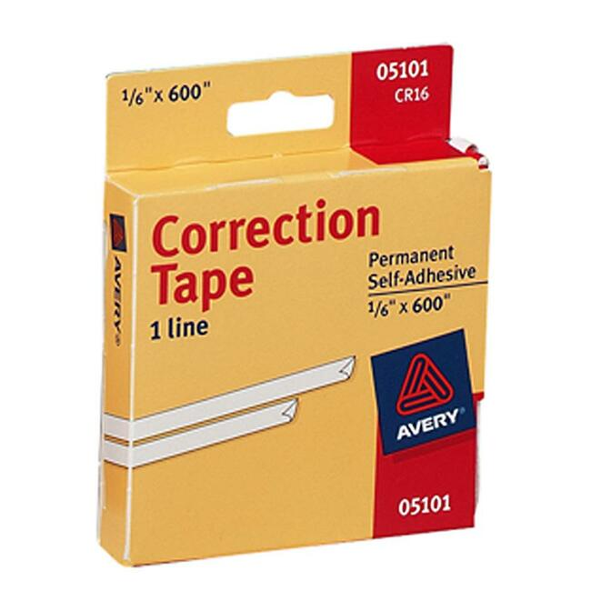 Avery Correction Tape