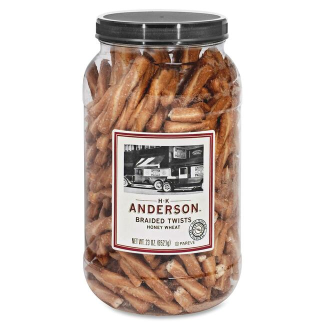 Anderson Pretzel Wheat Braid Pretzel