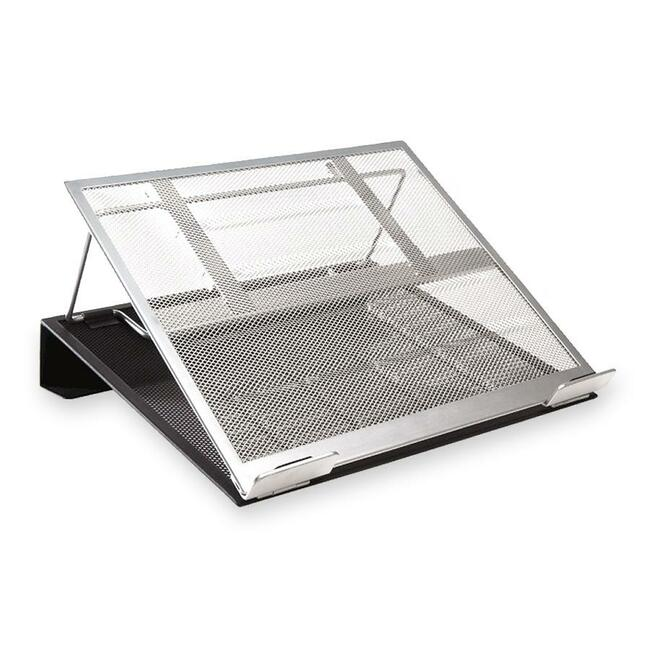 ROL82410 Rolodexa, Mesh Laptop Stand With Cord Organizer