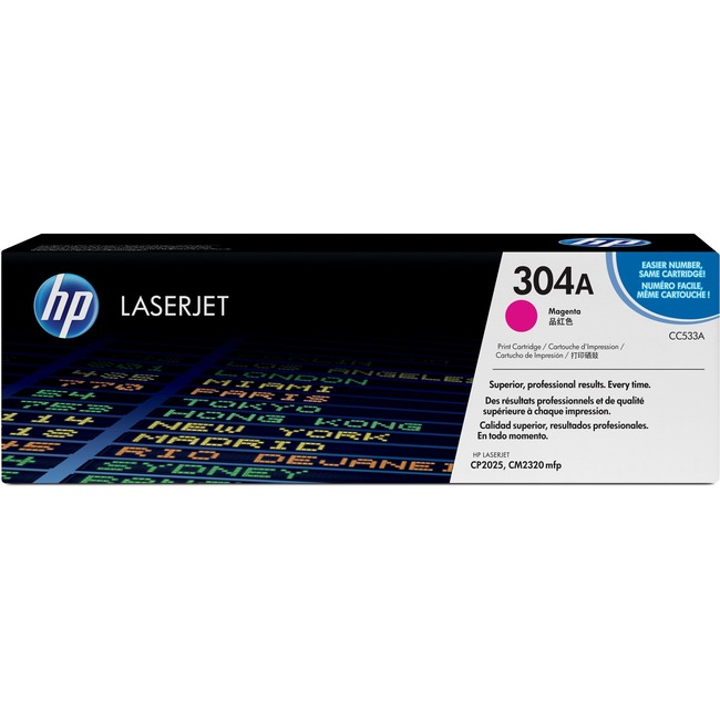 HP 304A Magenta Toner Cartridge