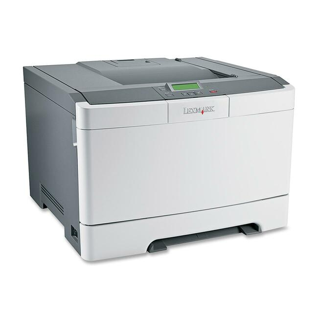 Lexmark C540n Laser Printer - Color - 1200 x 1200 dpi Print - Plain Paper Print - Desktop