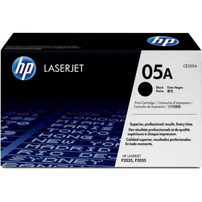 HP 05A Black Toner Cartridge