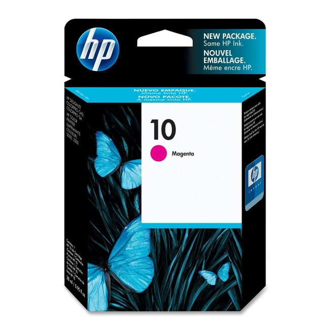 HP 10 Magenta Ink Cartridge