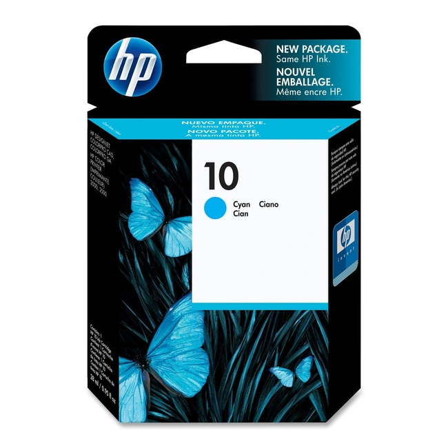 HP 10 Cyan Ink Cartridge