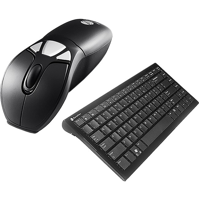 Gyration Wireless Air Mouse Go Plus and Wireless Compact Keyboard Bundle Black GYM1100CKNA