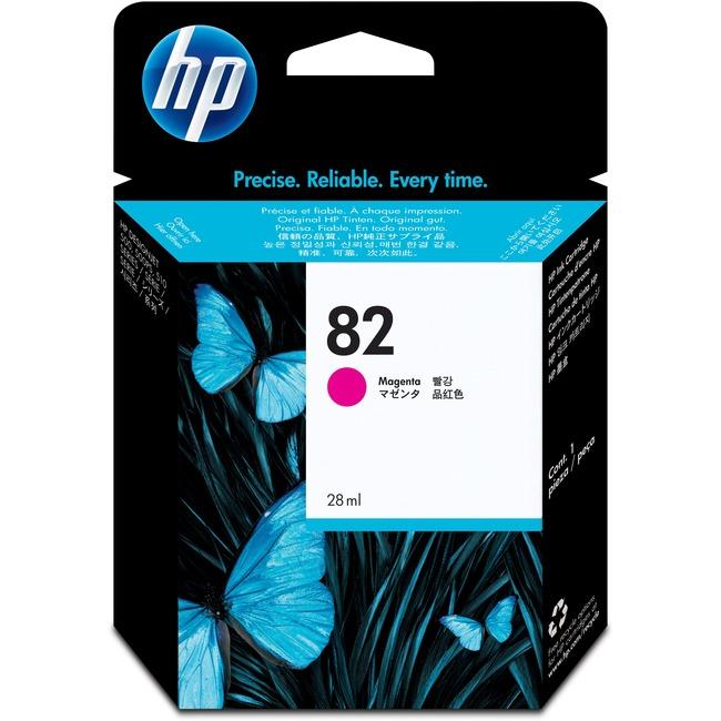 HP 82 Magenta Ink Cartridge