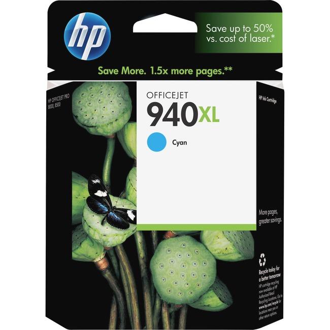 HP 940XL Cyan Ink Cartridge
