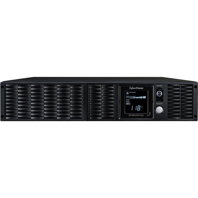 CyberPower Smart App Sinewave PR1500LCDRTXL2U 1500VA Pure Sine Wave RT LCD UPS