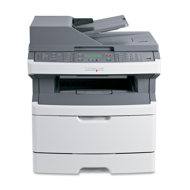 Lexmark X364DN Laser Multifunction Printer - Monochrome - Plain Paper Print - Desktop