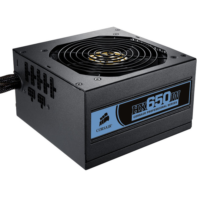 Corsair Professional CMPSU-650HX ATX12V & EPS12V Power Supply