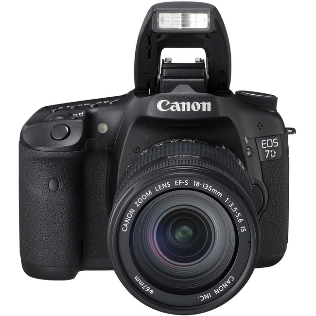 Canon EOS 7D 18 Megapixel Digital SLR Camera (Body with Lens Kit) - 28 mm - 135 mm