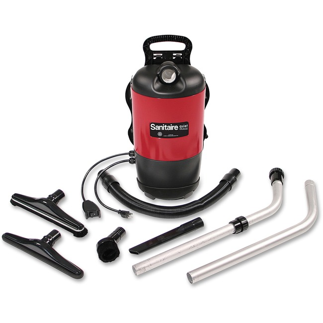 EUKSC412A Electrolux Sanitaire Commercial Backpack Vacuum, 11.5Lb, Red photo