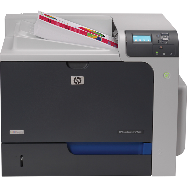 HP LaserJet CP4025DN Laser Printer | Color | Plain Paper Print | Desktop